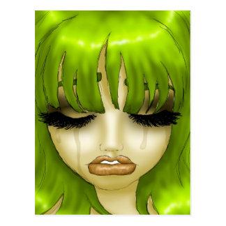 羨望の緑 ポストカード