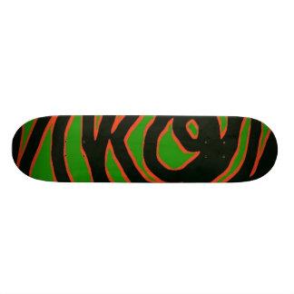 羨望の緑 21.6CM オールドスクールスケートボードデッキ