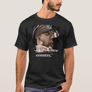義務、名誉の国 Tシャツ