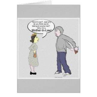 義母の強盗… カード