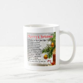 義母の詩-クリスマスのデザイン コーヒーマグカップ