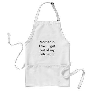 義母は私の台所から.....出ます!! スタンダードエプロン