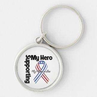 義母-私の英雄を支えている軍隊 キーホルダー