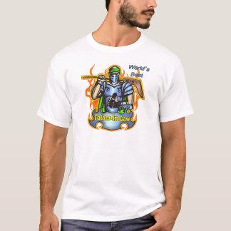 義父のためのクールなホッケーのギフト Tシャツ