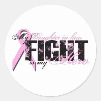 義理の娘の英雄-戦いの乳癌 ラウンドシール