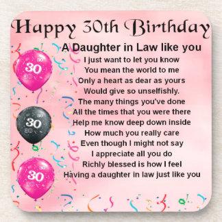 義理の娘の詩-第30誕生日 コースター