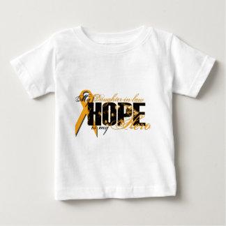 義理の娘私の英雄-白血病の希望 ベビーTシャツ