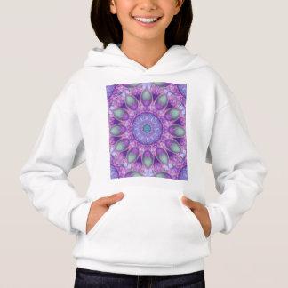羽のダンス、抽象的な紫色の蘭のラベンダー