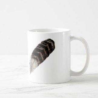 羽のマグ コーヒーマグカップ