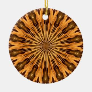 羽の盾の円形浮彫りの文字の磁器のオーナメント セラミックオーナメント
