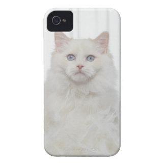 羽を持つ白い猫 Case-Mate iPhone 4 ケース