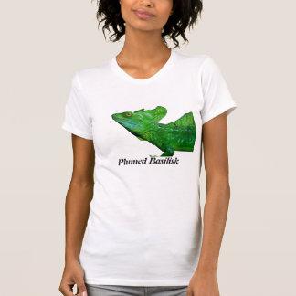 羽毛をつけられたバジリスク Tシャツ