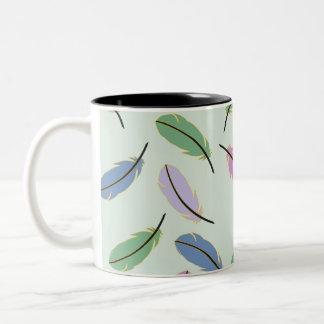 羽 ツートーンマグカップ
