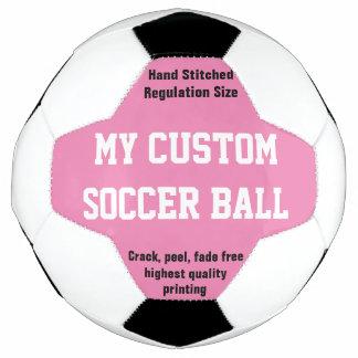 習慣によってサッカーボールのフットボールのFutbolの印刷されるピンク サッカーボール