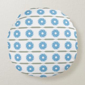 """習慣によってブラシをかけられるポリエステル円形の装飾用クッション(16"""") ラウンドクッション"""