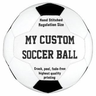 習慣によって印刷されるサッカーボールのフットボールFutbol サッカーボール