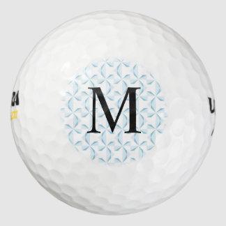 習慣の最初のスカイブルーの風車 ゴルフボール