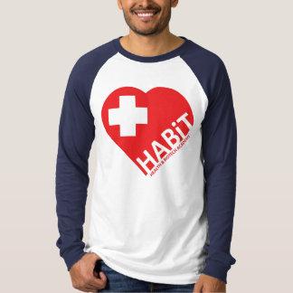習慣メンズ長いSleves Tシャツ