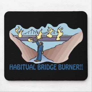 習慣的な橋バーナー マウスパッド