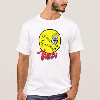 習慣的な自殺のスマイリー09 Tシャツ