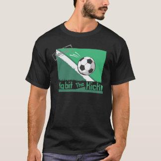 習慣蹴り Tシャツ