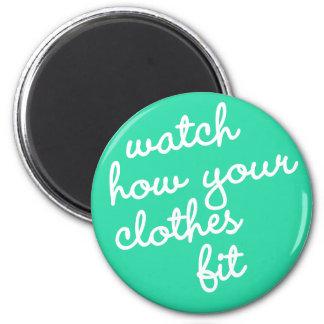 習慣#22 -あなたの衣服がいかに合ったか腕時計 マグネット