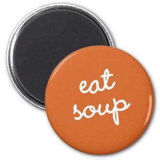 習慣#9 -スープを食べて下さい マグネット