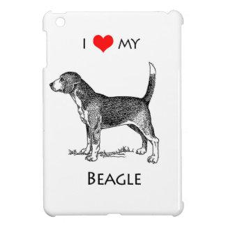 習慣I愛私のビーグル犬犬 iPad MINI CASE