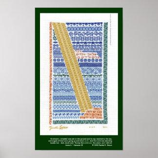 翻訳を用いるヤコブの梯子ポスター、 ポスター