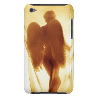 翼との天使のシルエット Case-Mate iPod TOUCH ケース