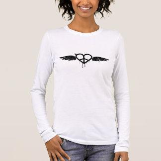 翼との愛及び平和 Tシャツ