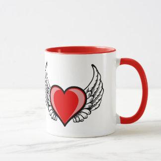翼との愛 マグカップ