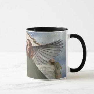 翼との角度 マグカップ