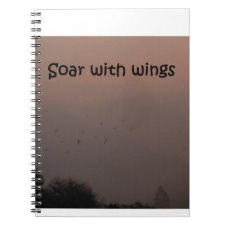 翼によって上昇して下さい ノートブック