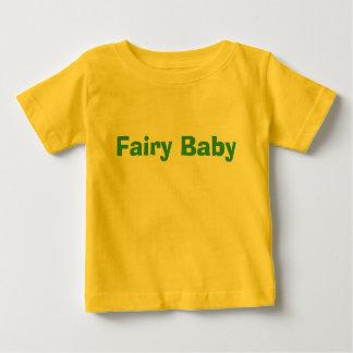 翼を持つ妖精のベビー ベビーTシャツ