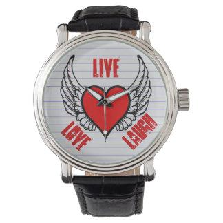 翼笑いとのハートは愛住んでいます 腕時計