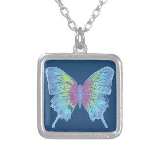 翼 シルバープレートネックレス