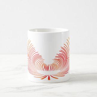 翼(赤い) コーヒーマグカップ