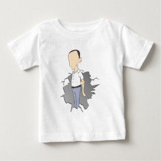 老人のひび ベビーTシャツ