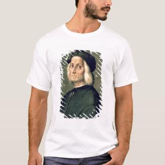 老人のポートレート Tシャツ