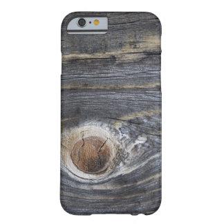 老化させた木 BARELY THERE iPhone 6 ケース