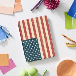 老化した米国旗は衰退しました iPad AIR カバー
