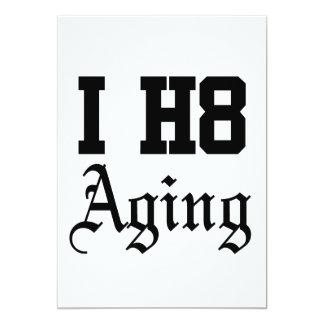 老化すること カード