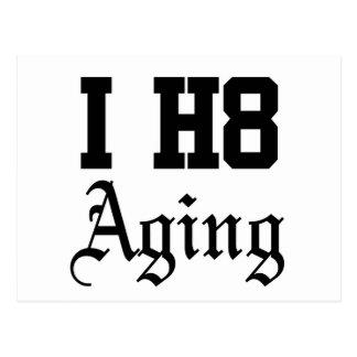 老化すること ポストカード