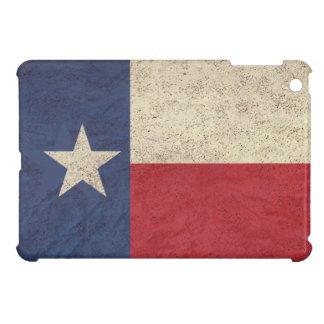 老化するテキサス州の旗 iPad MINIカバー