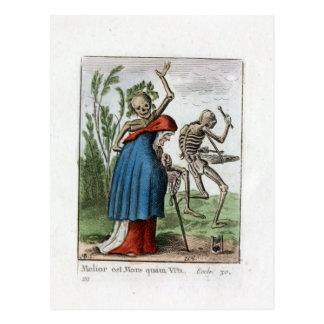 -老女-絞首刑1816色刷 ポストカード