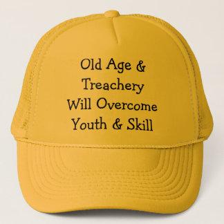 老齢期及びTreacheryWill OvercomeYouth及び技術 キャップ
