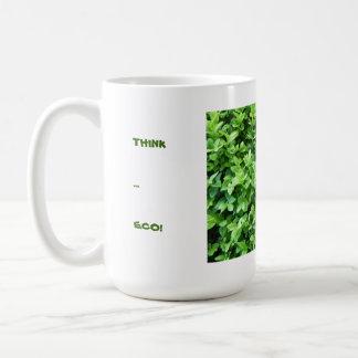 考えて下さい。エコ! コーヒー・マグ コーヒーマグカップ
