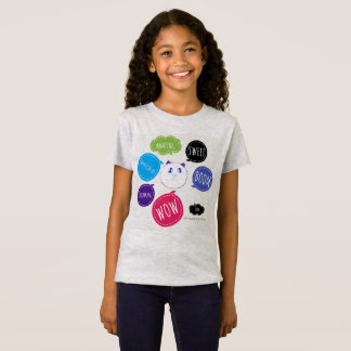 考えるな女の子 Tシャツ