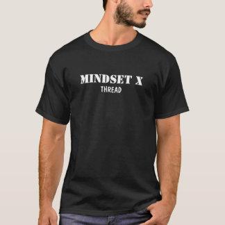考え方Xの糸 Tシャツ